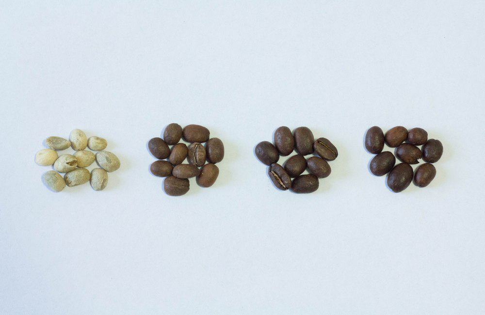 different coffee roasts