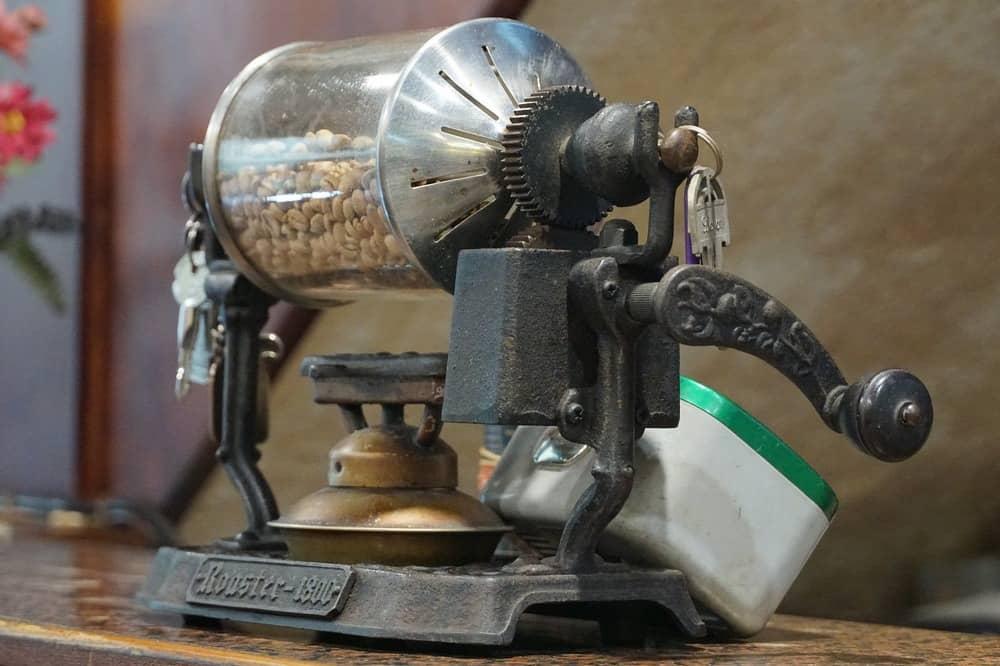 tostador de café casero